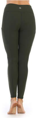 Couture American Fitness High Quality Super Soft High Waist 3/4 Length Side Pocket Compression Leggings