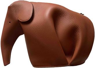 Loewe Animals Brown Leather Handbags
