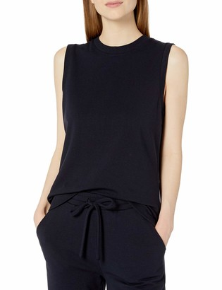 Daily Ritual Women's Standard Terry Cotton and Modal Tank Top