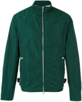 Burberry zipped bomber jacket - men - Cotton/Polyester - S