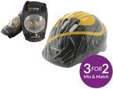 Batman Safety Helmet And Pads Set