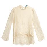 MiH Jeans Esbaran crochet-lace blouse