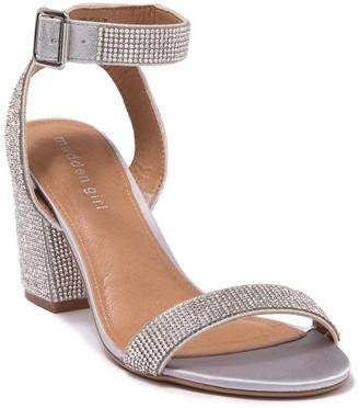Madden-Girl Malia Rhinestone Heeled Sandal