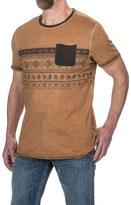 Jeremiah Calvin Print T-Shirt - Short Sleeve (For Men)