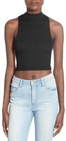 BP Mock Neck Crop Tank