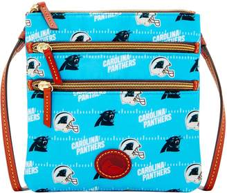 Dooney & Bourke NFL Panthers North South Triple Zip