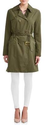 Regent Sutton Women's Belted Trench Coat