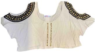 Sass & Bide Beige Cotton Tops