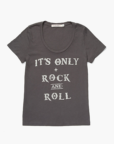 Junk Food It's Only Rock & Roll T-Shirt