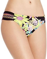 Trina Turk Women's Monaco Shirred Side Hipster Bikini Bottom
