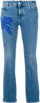 Stella McCartney palm tree kick jeans - women - Cotton/Spandex/Elastane - 27