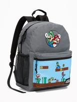 Old Navy Super Mario Backpack for Boys