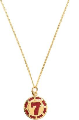 True Rocks Vegas 7 poker chip pendant necklace