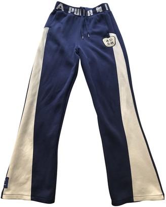 Puma Multicolour Cotton Trousers for Women
