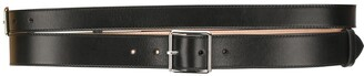 Alexander McQueen Double Buckled Belt