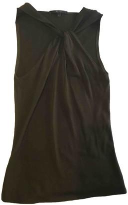 Gucci Khaki Silk Top for Women