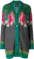 Roberto Collina patterned long cardigan