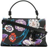 Emilio Pucci floral embroidered tote - women - Polyurethane - One Size