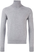 Ami Alexandre Mattiussi ribbed roll neck jumper - men - Cashmere/Merino - S