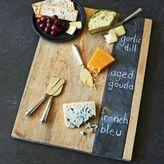 Sur La Table Wood and Slate Cheese Board