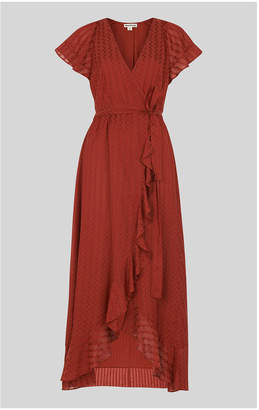 Whistles Nolita Wrap Maxi Dress