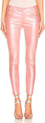 RtA Prince Leather Pant in Blush Perle | FWRD