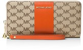 MICHAEL Michael Kors Jet Set Travel Signature Print Continental Wallet