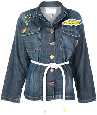 Mira Mikati tie waist jacket