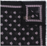 Versace patterned scarf