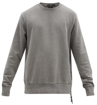 Ksubi Seeing Lines Cotton-jersey Sweatshirt - Grey