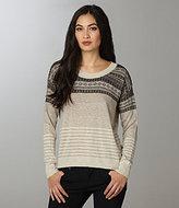Striped Fair Isle Sweater