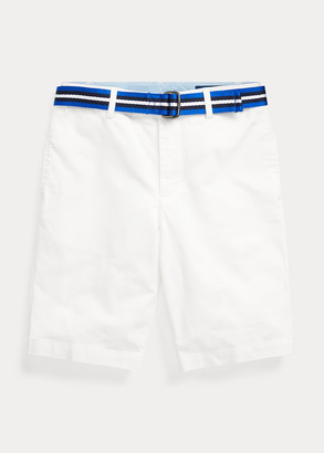 Ralph Lauren Slim Fit Belted Chino Short