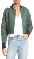 Elizabeth and James Women's Ancel Bomber Jacket