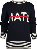 Michael Kors No Hate Itarsia Crewneck Sweater