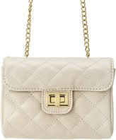 MC M&c Women's | Quilted Gold-Tone Chain Handbag