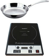 Berghoff Tronic Power Induction Stove w/ StainlessSteel Fry Pan