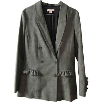 H&M Studio Studio Grey Cotton Jacket for Women