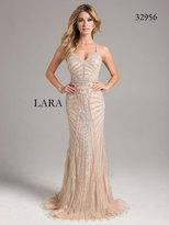 Lara Dresses - 32956 Dress In Silver/Nude