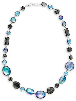 Ippolita Rock Candy Sterling Silver & All Stone Mixed Short Necklace