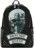 Philipp Plein Ermes backpack - men - Leather/metal - One Size