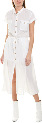 The Kooples Gauze Shirtdress