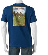 Caribbean Joe Men's Back-Print Caddyshack Tee