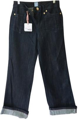 Sass & Bide Navy Cotton - elasthane Jeans