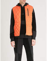 RAEBURN X SAVE THE DUCK Quilted shell gilet