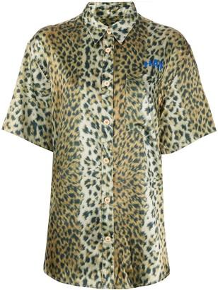 Han Kjobenhavn Leopard Print Shirt