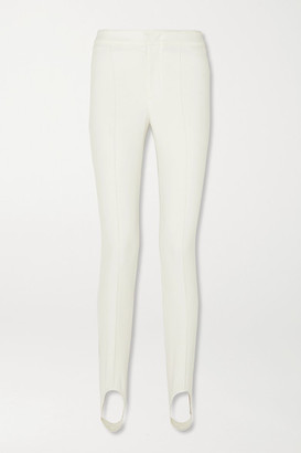 Moncler Stretch-twill Stirrup Ski Pants - White