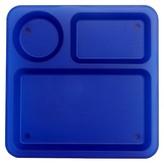 "Circo Square Polypropylene Dessert Plate 10.5 "" Multi-Color - Set of 1"