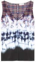 Altuzarra Angeles printed silk top