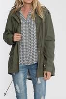 Velvet Heart Olive Cargo Jacket