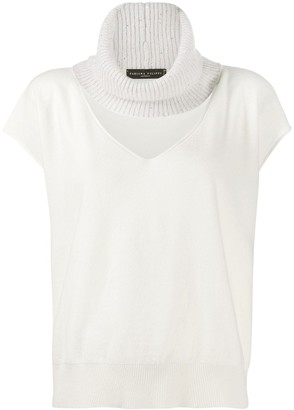Fabiana Filippi Cut-Out Cashmere Top